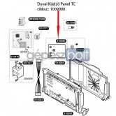 Saunier Duval Kijelző Panel TC 1009000