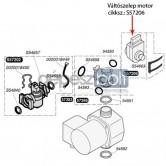 Saunier Duval Váltószelep motor S57206