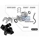 Saunier Duval HMV mennyiség mérő 57202