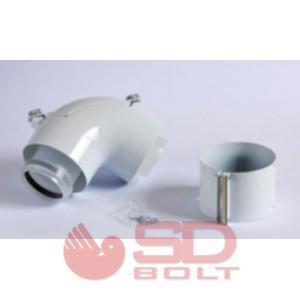 Saunier Duval SDC 60/100 Ellenörző T-idom