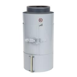 Saunier Duval SDC PPs/Alu ellenőrző egyenes idom 125/80 mm